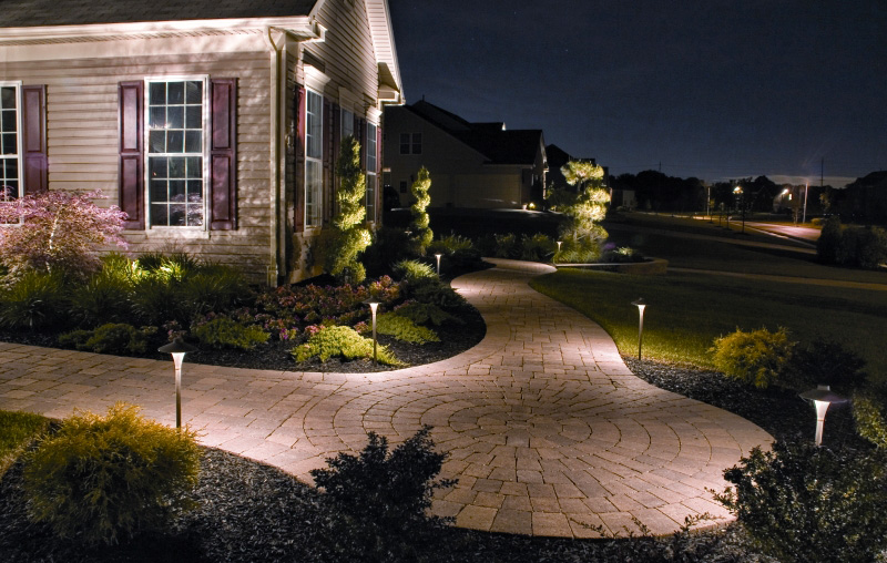 Low voltage landscape lighting is a great feature to add to any outdoor living space. It provides safety by lighting pathways steps decks and water ... & Lighting u2013 Rooted To Perfection